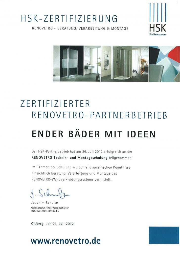 HSK-Zertifikat-Renovetro
